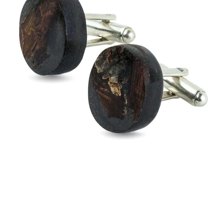 COAL BLACK cufflinks