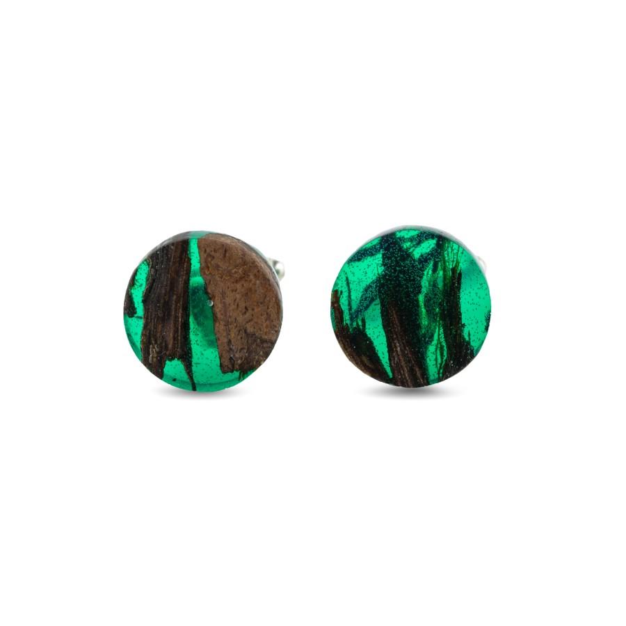EMERALD GREEN cufflinks