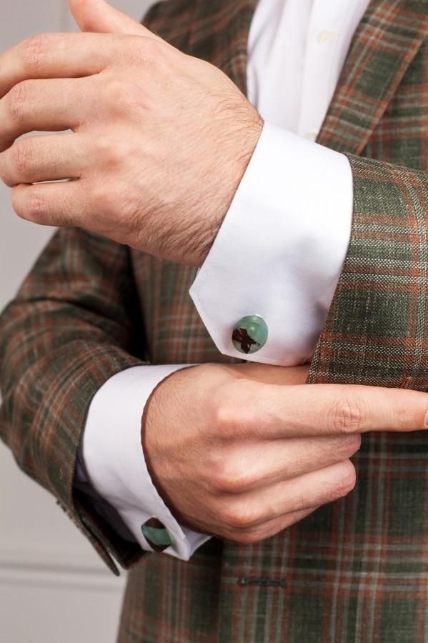 MIDNIGHT GREEN cufflinks