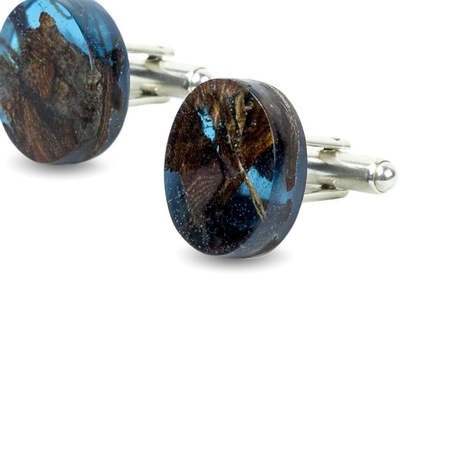 OCEAN BLUE cufflinks
