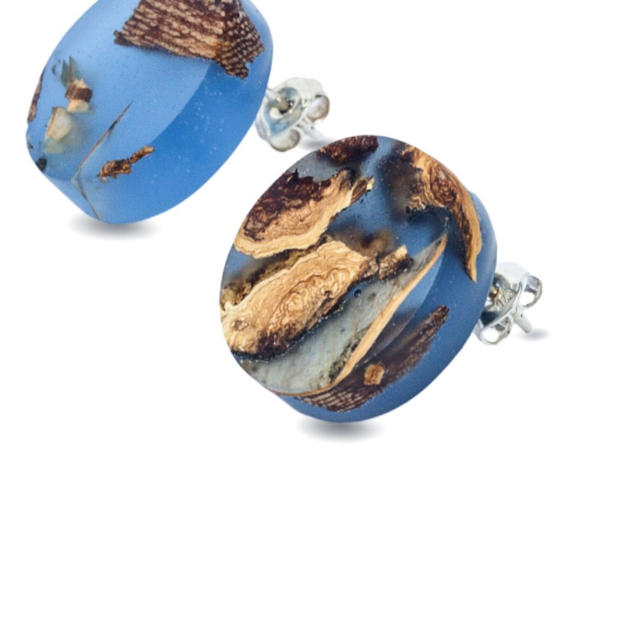 FORGET ME NOT CIRCLEearrings