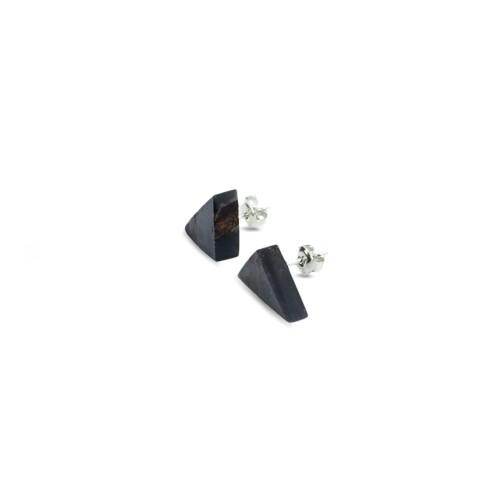 TRIANGLE earrings black